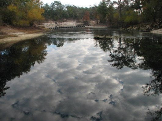 I call this picture I took Cloudy Water-it was an early morning Cloudy Sky reflecting in the water at Troy Springs
