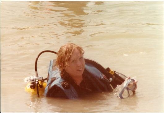 Rhonda-open-water-class- russelville-quarry-8-1984