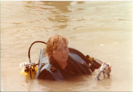 Rhonda-open-water-class- russelville-quarry-8-1984